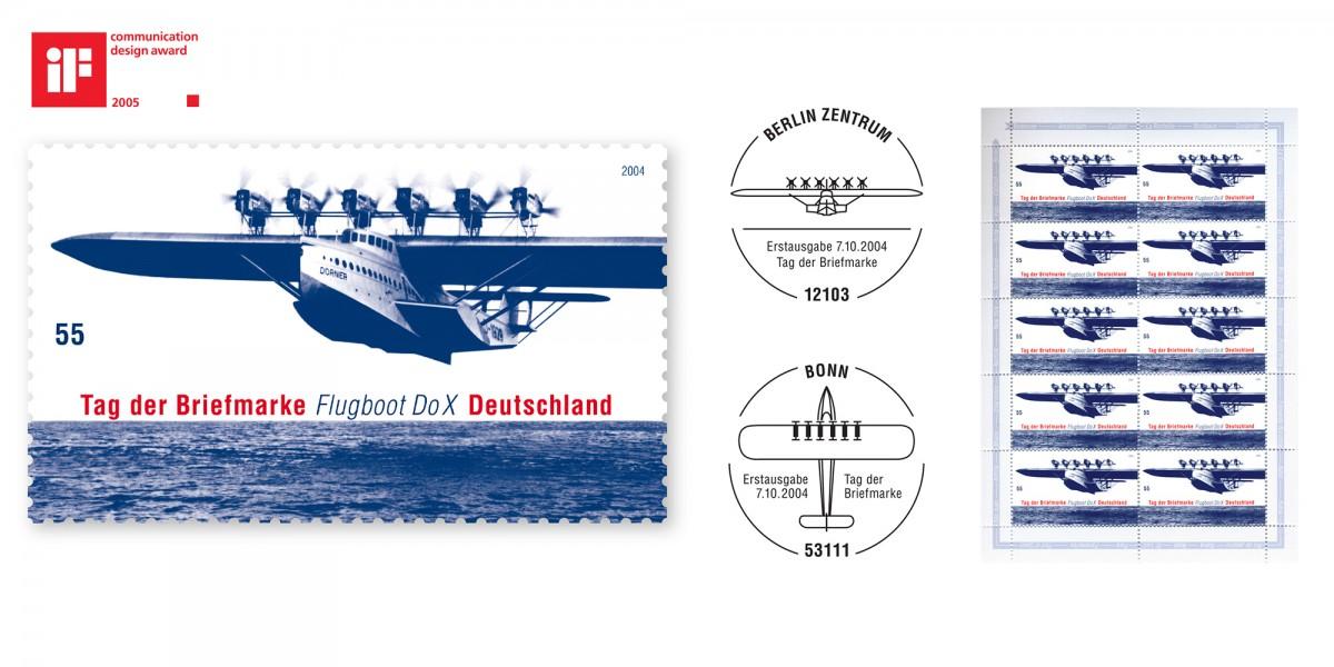 2004_Sonderpostwertzeichen_FlugbootDoX