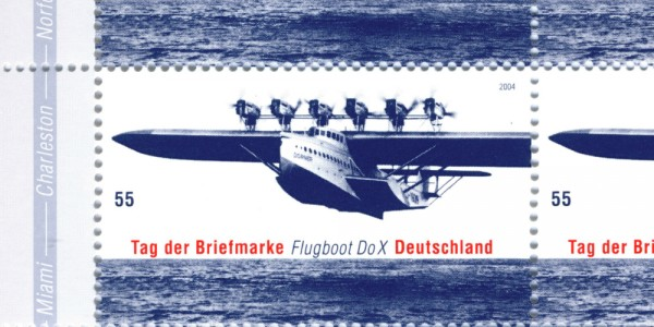 Sonderpostwertzeichen Flugboot DoX