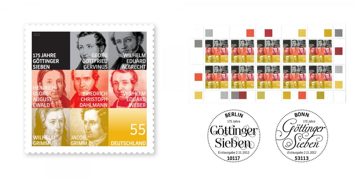 2012_Sonderpostwertzeichen_GoettingerSieben