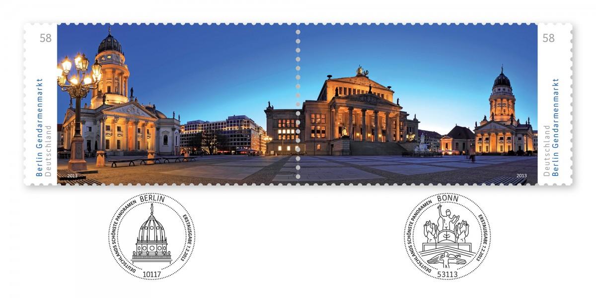 2013_Sonderpostwertzeichen_DsP_Gendarmenmarkt