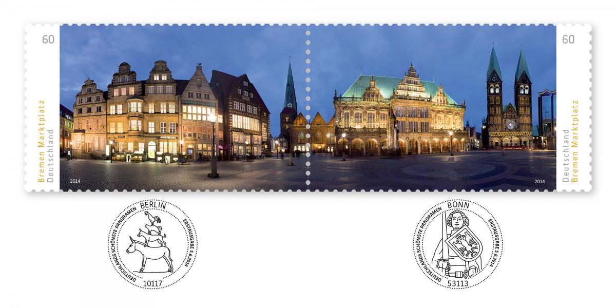 2014_Sonderpostwertzeichen_DsP_BremenMarktplatz