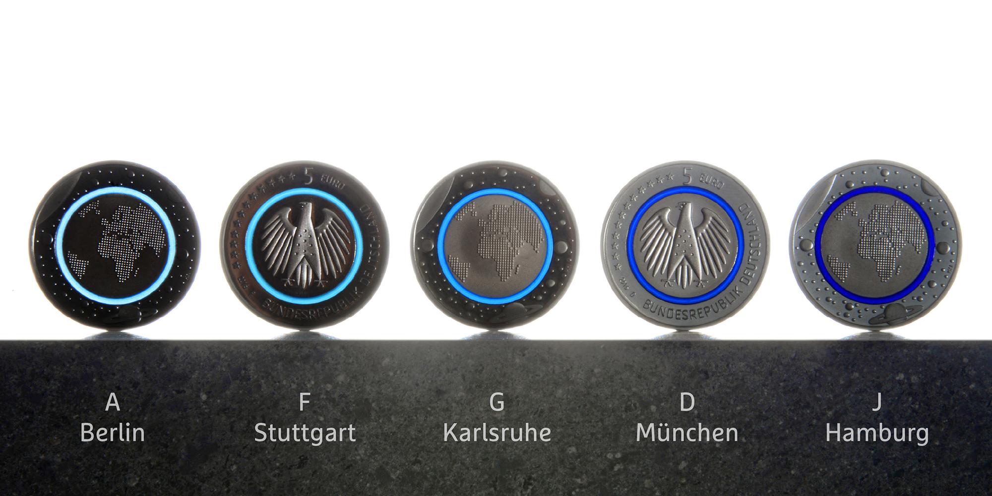 Bundesministerium Der Finanzen Münzen Klein Und Neumann