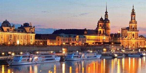 Deutschlands schönste Panoramen: Elbpanorama Dresden