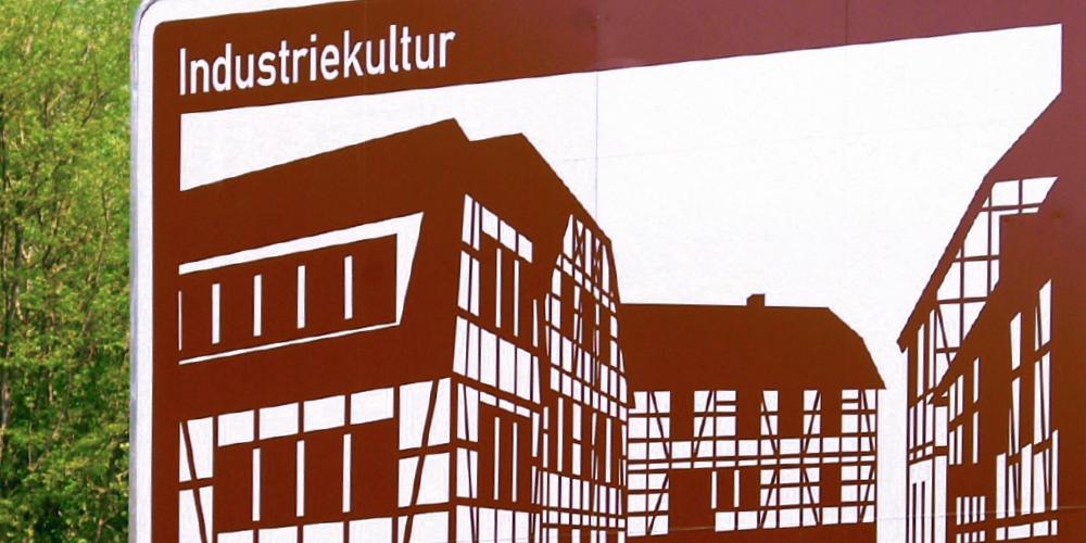 Straßen.NRW Touristische Unterrichtungstafel